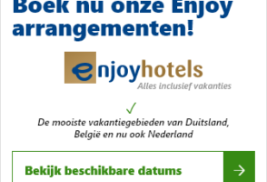 Alles inclusief Enjoy arrangement