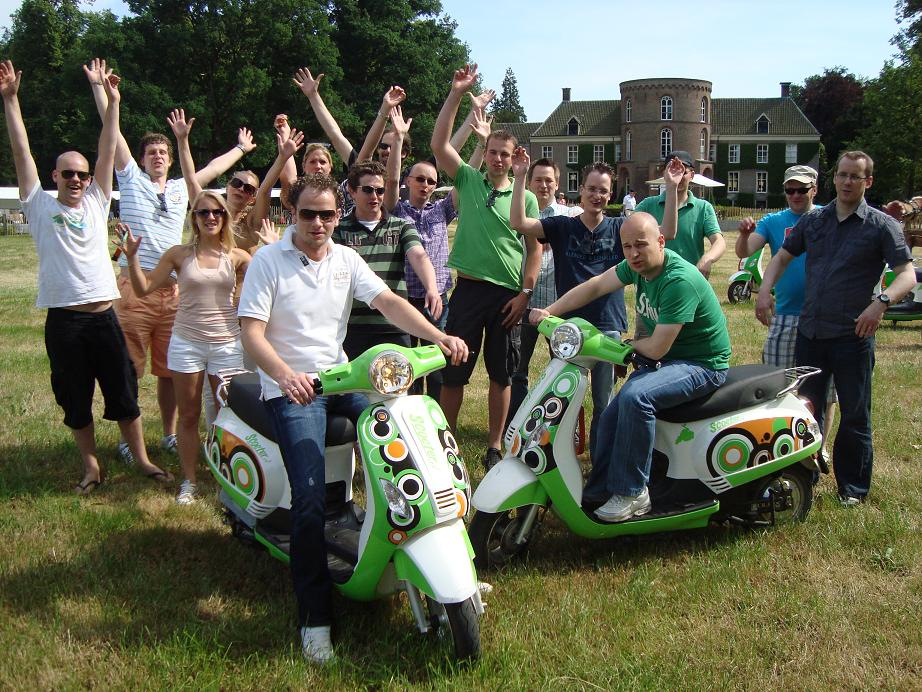 Duurzaam scooter toeren Drenthe
